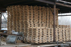 Pallets are given pine recovered