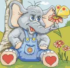Cheerful elephant Rkan 5518