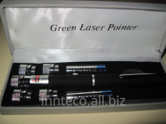 Green laser pointer of 100 MW with 5 nozzles