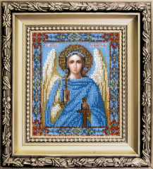 Set for an embroidery the Guardian angel of