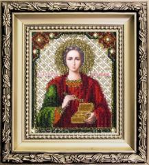 Set for an embroidery Saint Panteleimon the Healer