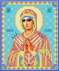 Set for an embroidery the Icon of BM of