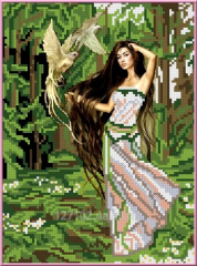 Drawing scheme the Forest fairy of KBL - 4004