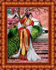 Drawing scheme the Japanese garden KBL - 4010