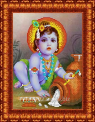 Drawing scheme the Baby Krishna of KBL - 4013