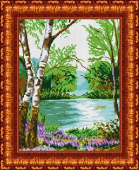 Drawing scheme At the river KBP - 3009