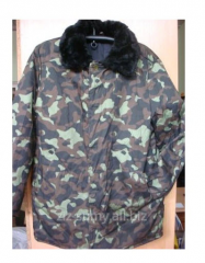 Pea jacket camouflage worker