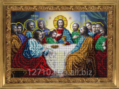 The scheme for an embroidery the Last Supper 2