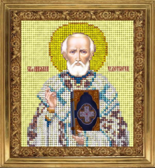 The scheme for an embroidery Saint Nicholas of