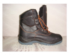 Boots high warmed