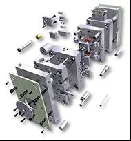 Стандартные комплектующих для пресс-форм и штампов производства компании HASCO