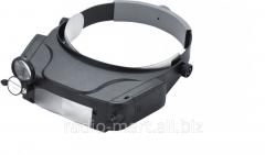 Binocular magnifying glass nalobny with LED