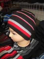 Вязаная мужская шапка  разные цвета     Код:  жс