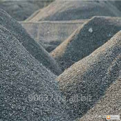 Crushed stone granite, elimination, slag,