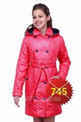 Теплая куртка весна-осень Эмили подростковая