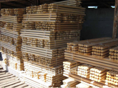 The stock is garden, wooden products for