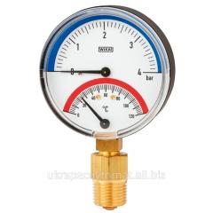 Bimetallic thermomanometer of Model 100.0
