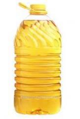 Sunflower oil nerafinirovany in bulk