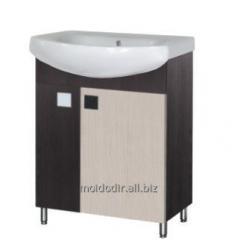 Тумба с умывальником Домино 60 мебель для ванной