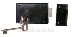 Lock laid on black No. 190 K49702