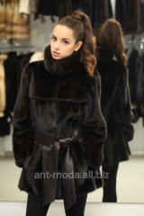 Fur coats from natural fur, coa
