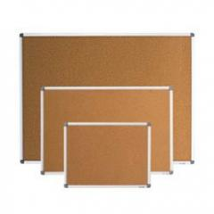 Board pith BUROMAX 60 x 90 cm aluminum frame