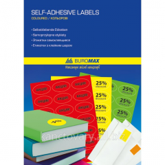 Labels self-adhesive oval BM.2873
