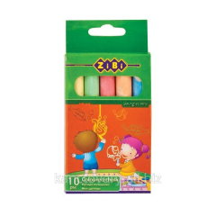 Chalk color, a set from 10 pieces.