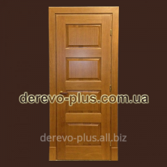 Doors from the massif of an oak