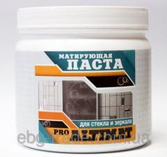 The matting paste for ALTIMAT PRO glass, 1 KG