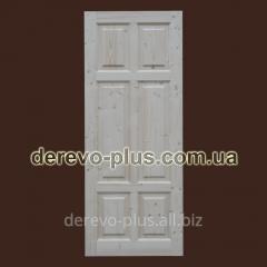 Interroom doors under painting