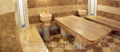 Massage tables or chebek-tash
