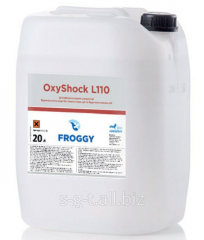 Chemistry for pools of Froggy OxyShock L110 of 20