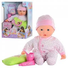 """Mila's baby doll """"We clean teeth"""