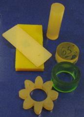Изготовление деталей из полиуретана - пластины,