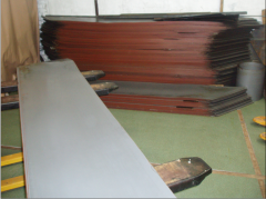 Steel electrotechnical (transformer) in sheets of