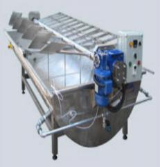 Equipment for production of cottage cheese.
