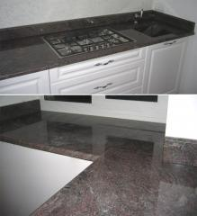 Table-tops from granite