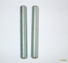 Резьбовые стержни (шпильки)  по DIN 975, 976-1.