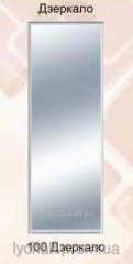 Door for a sliding wardrobe a mirror