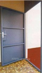Door entrance metal