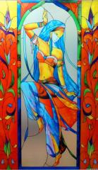 Art stained-glass windows Ukraine