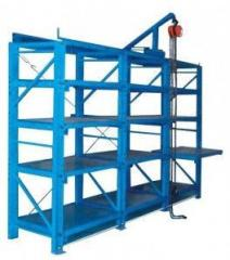 Racks for storage of press forms