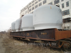 To capacity metal, tanks from stainless steel, we