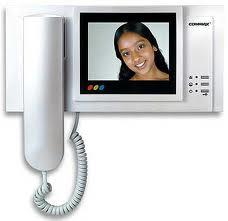 Video on-door speakerphones