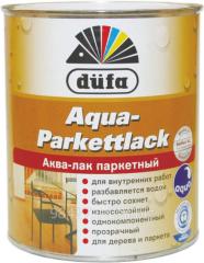 Аква-лак паркетный Aqua-Parkettlack