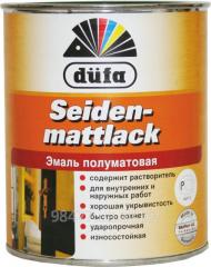 Эмаль шелковисто-матовая Seidenmattlack