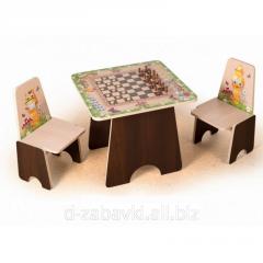 """Детский столик """"Шахматы"""""""