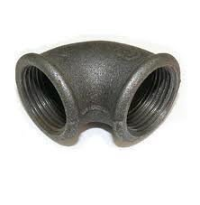 Knee (square) pig-iron du 50 in/N