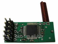 Receiver of radio sensors and charms of RF-PRO